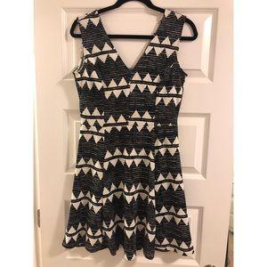 H&M geometric dress